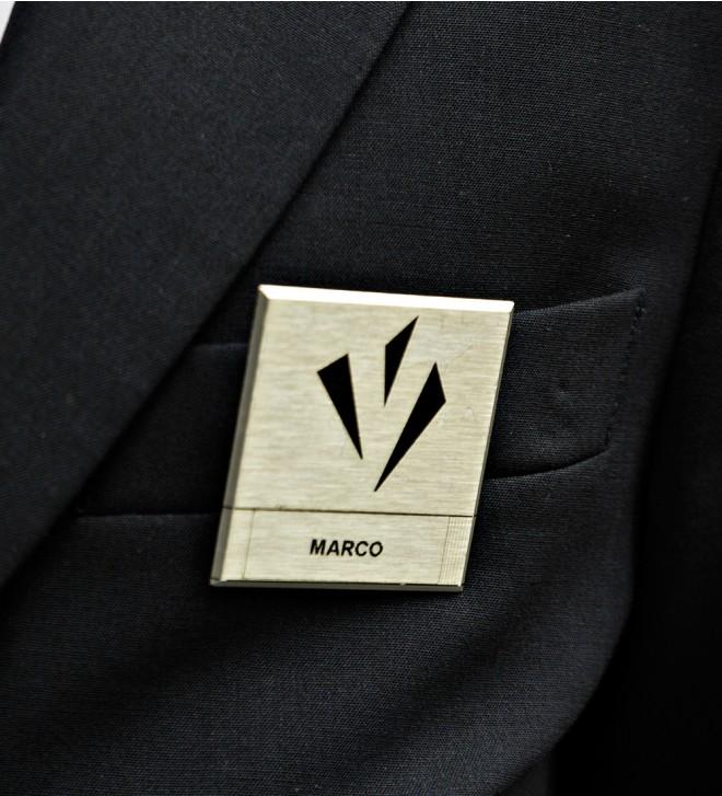 Badge portanome
