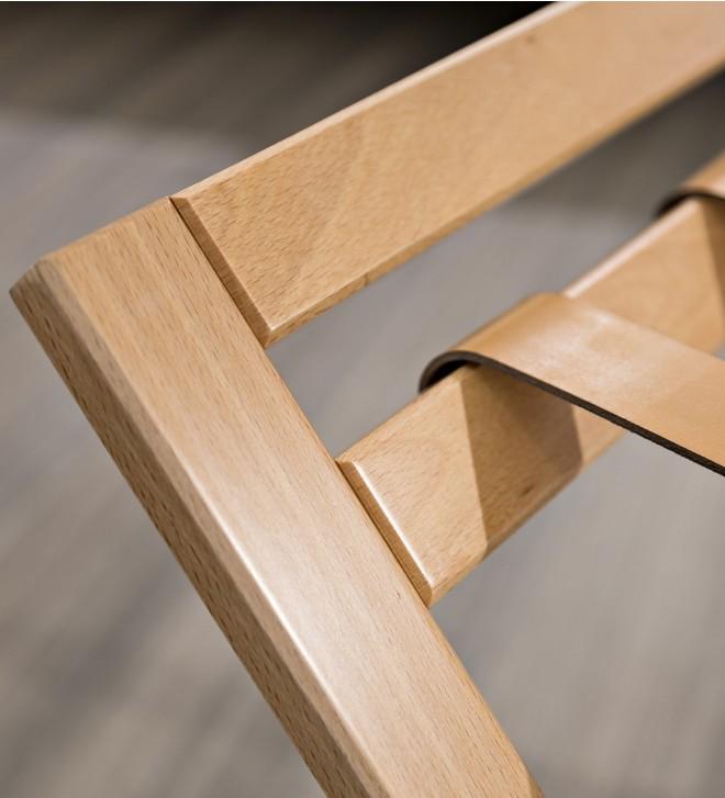 Reggivaligie in legno