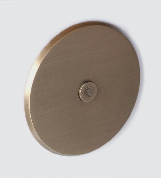 Placca elettrica rotonda