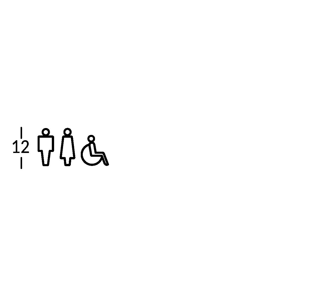 Simbolo ritagliato