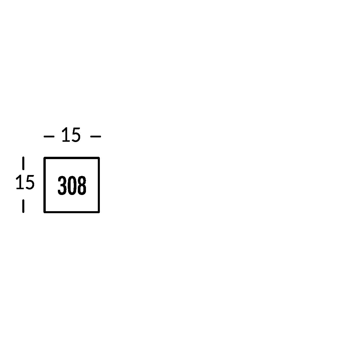 Linea di segnaletica in ferro nero spessore 2 mm con caratteri a rilievo in ferro decapato spessore 5 mm.