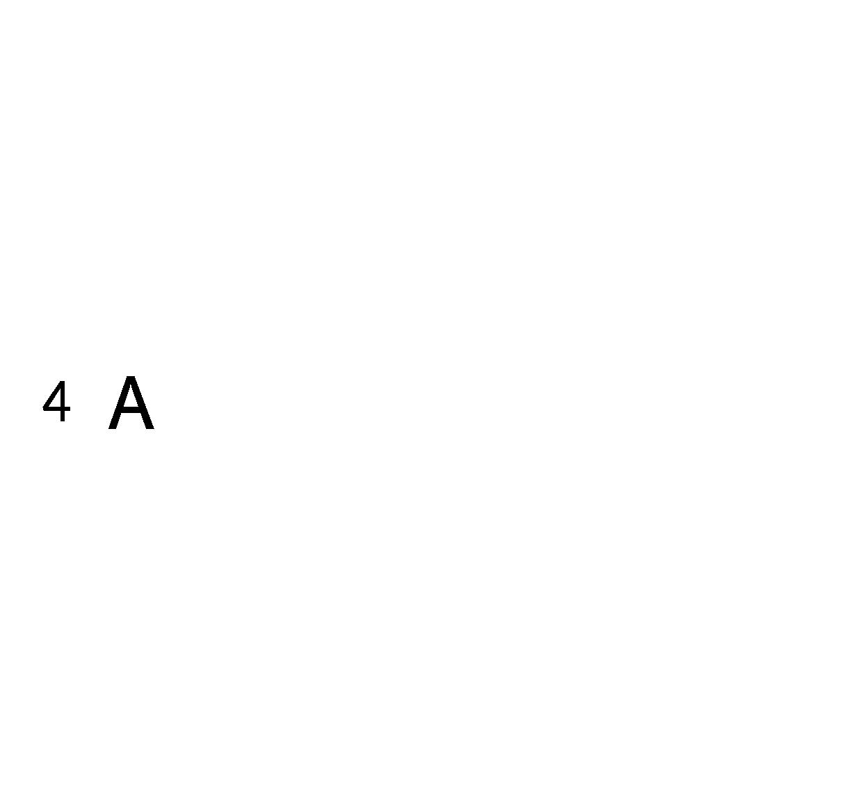 Caratteri ritagliati h4cm