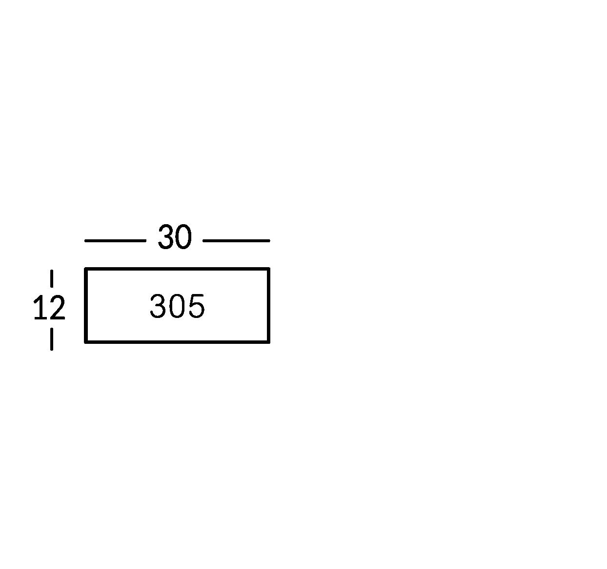 Linea di segnaletica in ottone anticato vintage, con caratteri incisi.