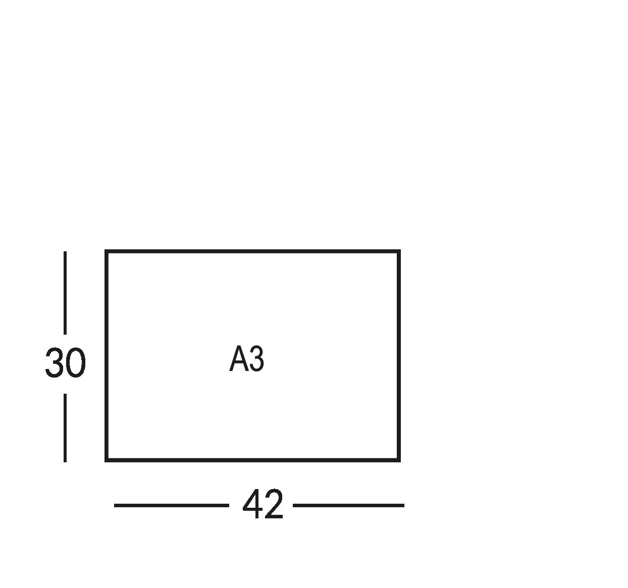 Supporti per planimetria sicurezza, formato A3