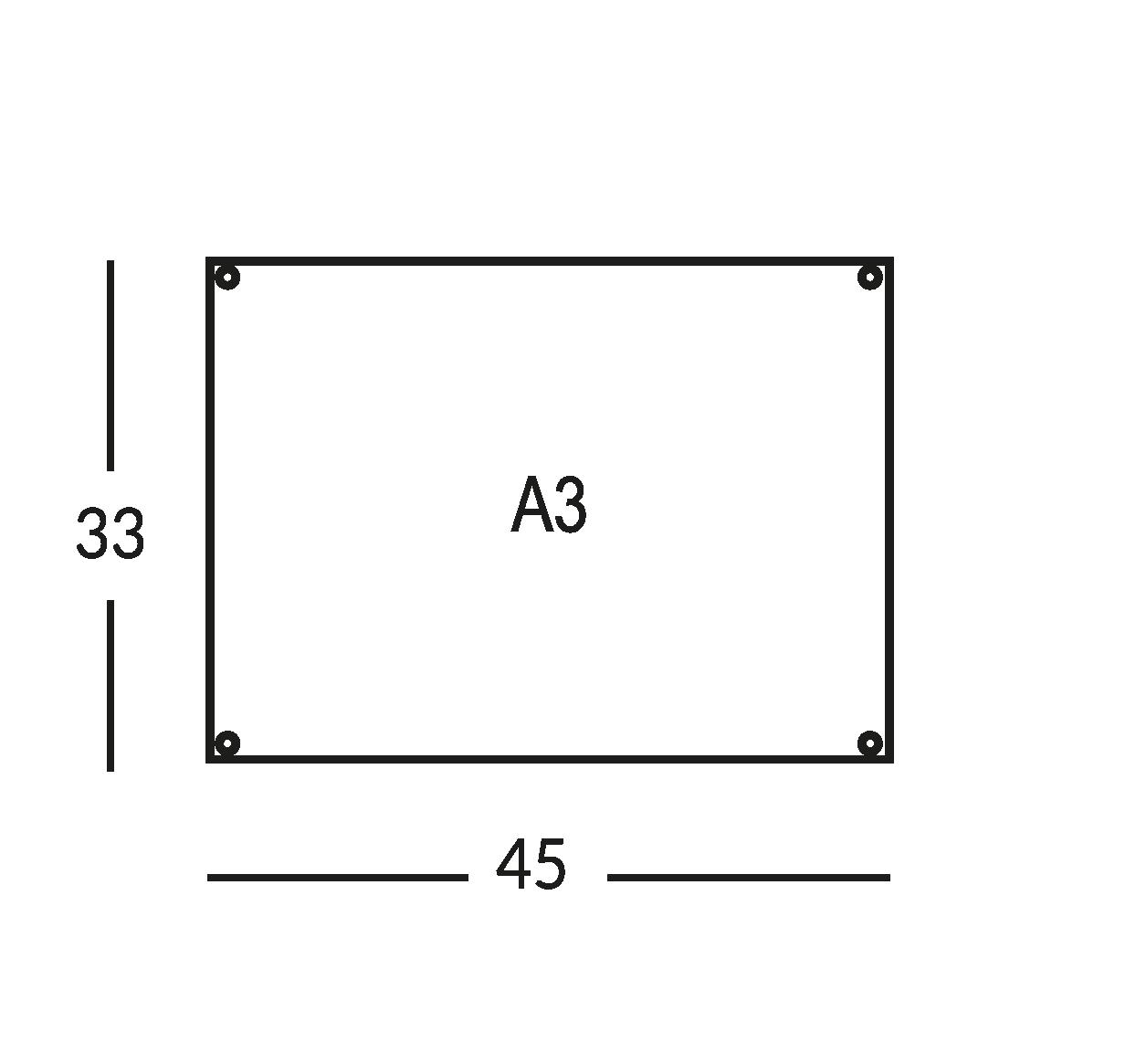 Supporti per planimetria sicurezza, realizzati in cristallo. Vie di esodo stampate in quadricromia. Formato A3