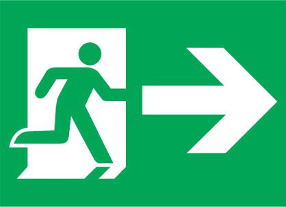 (EME14)Uscita Di Emergenza