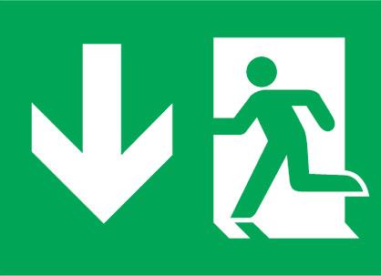 (EME16)Uscita Di Emergenza