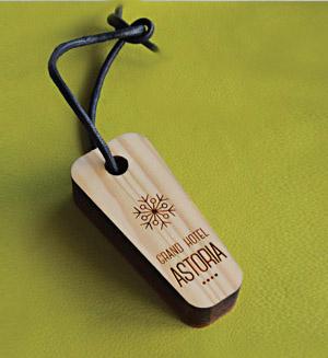 Portachiave in legno